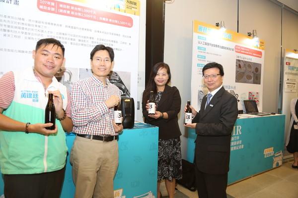 108年度新竹市地方型SBIR提供超過2,400萬元補助款。(圖/新竹市政府提供)