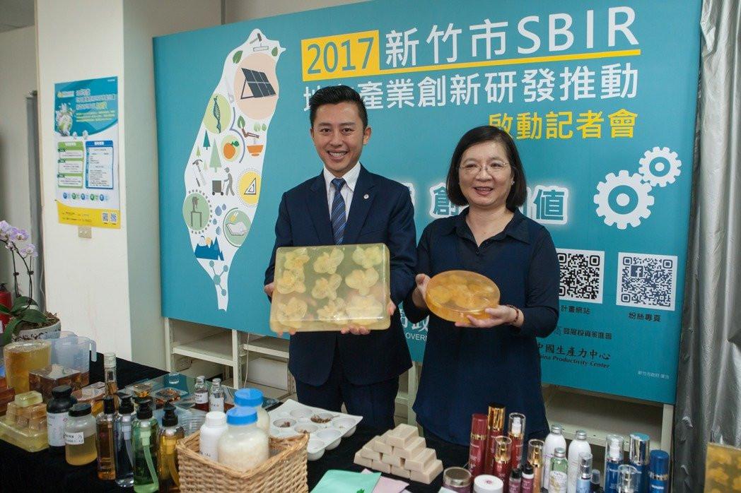天語生物科技打造「台灣蘭花藝術皂」,受到市場歡迎。